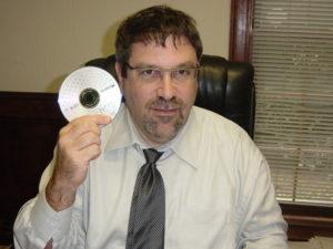 Jonathan Ginsberg with Social Security CD