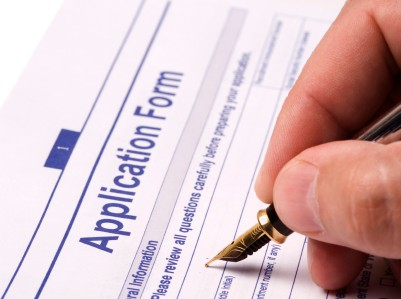 Application for Social Security benefits